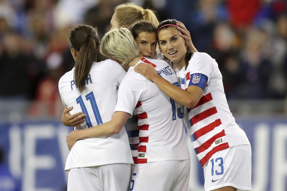 U S  Women's Soccer Lawsuit for Gender Discrimination, The French
